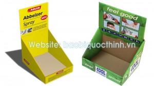 Công ty in khay giấy trưng bày sản phẩm tại TP.HCM