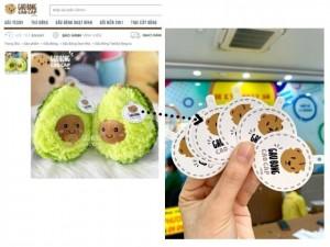 In tag giấy gắn sản phẩm gấu bông shop thú bông cao cấp - In Kỹ Thuật Số Since 2006