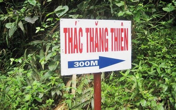 Tour thác Thăng Thiên 1 ngày