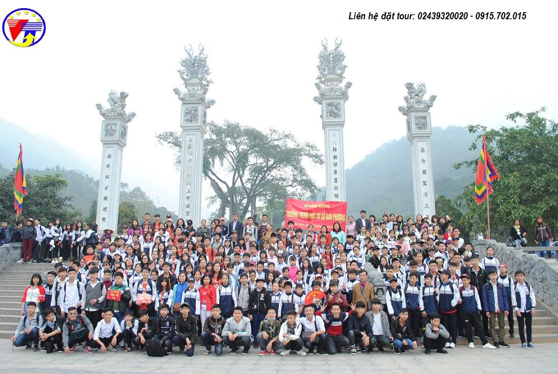 Tour học sinh Tây Thiên 1 ngày