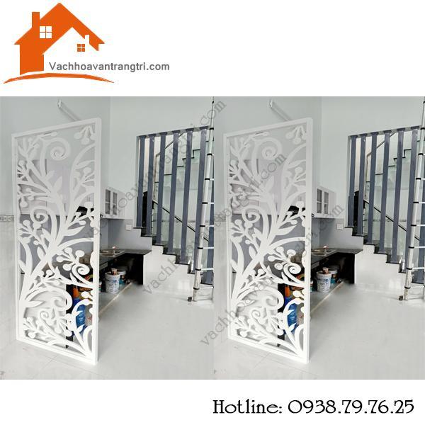 Thi công lắp đặt vách ngăn gỗ trang trí nhà đẹp hiện đại