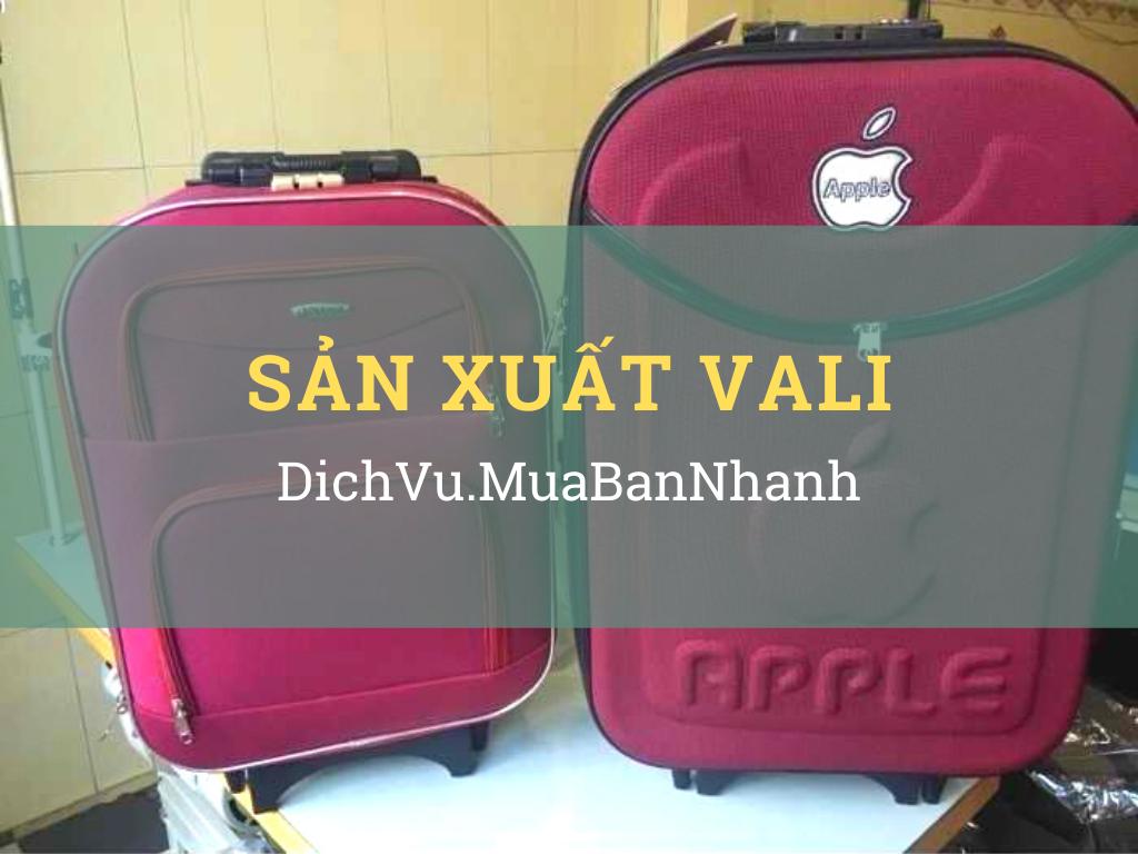 Xưởng gia công vali nhựa, nhôm, túi xách vali làm quà tặng doanh nghiệp MuaBanNhanh