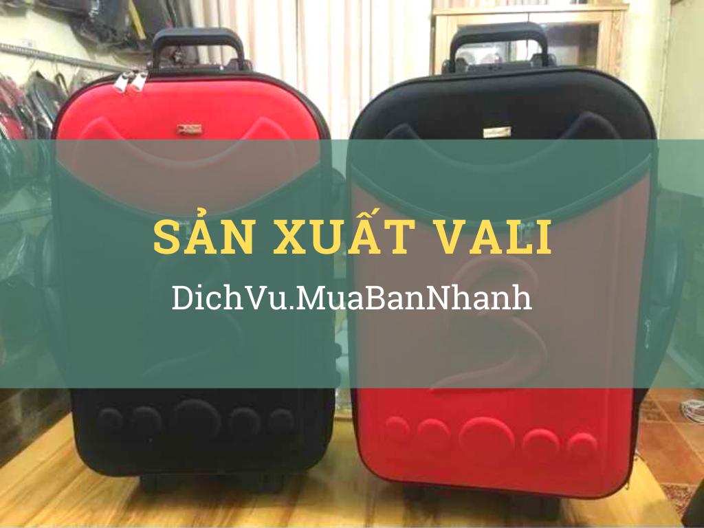 Nhận sản xuất - gia công vali số lượng lớn làm quà tặng vali công nhân về quê ăn Tết