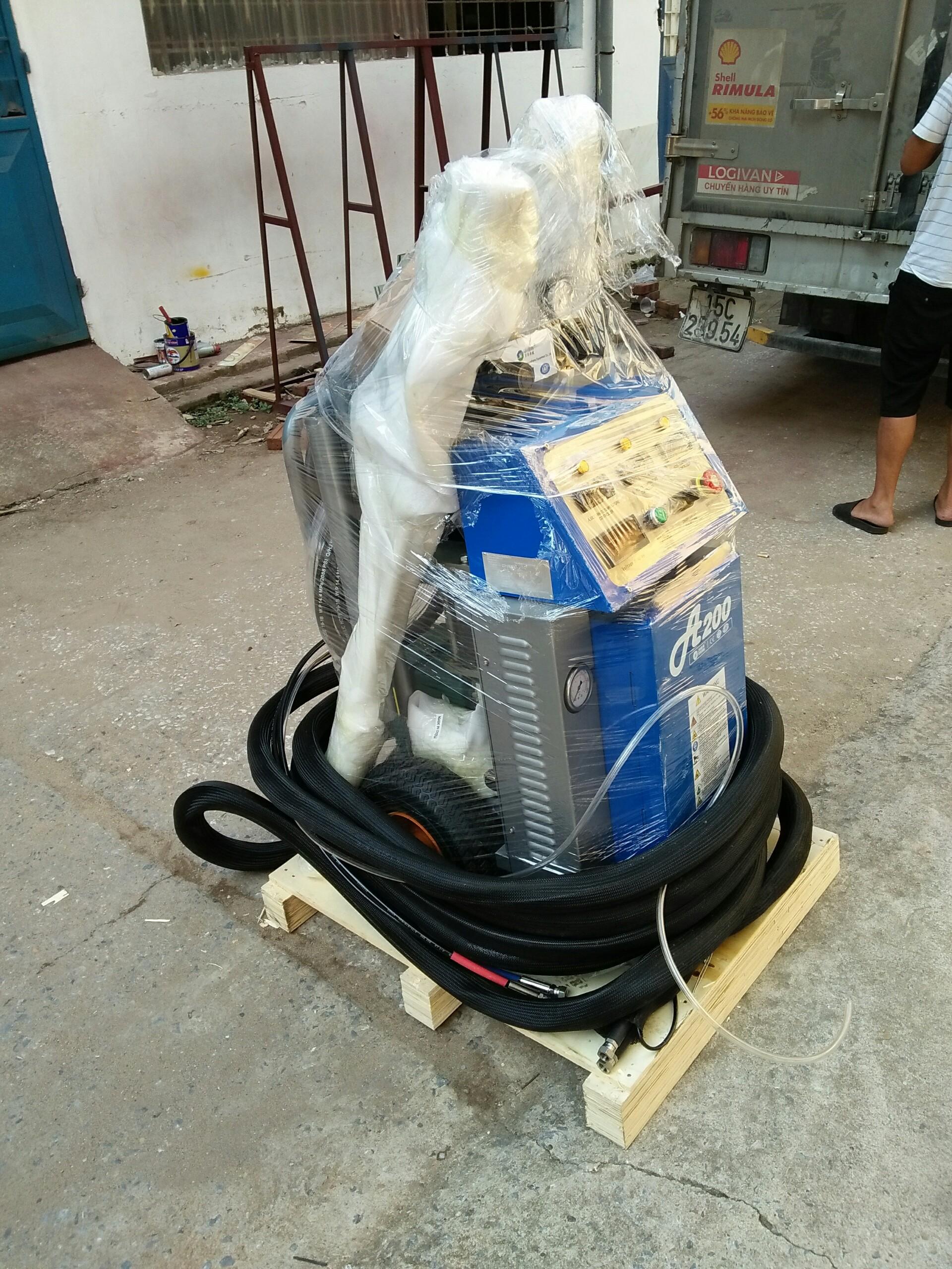 Hợp tác tìm đại lí máy phun foam pu cách nhiệt