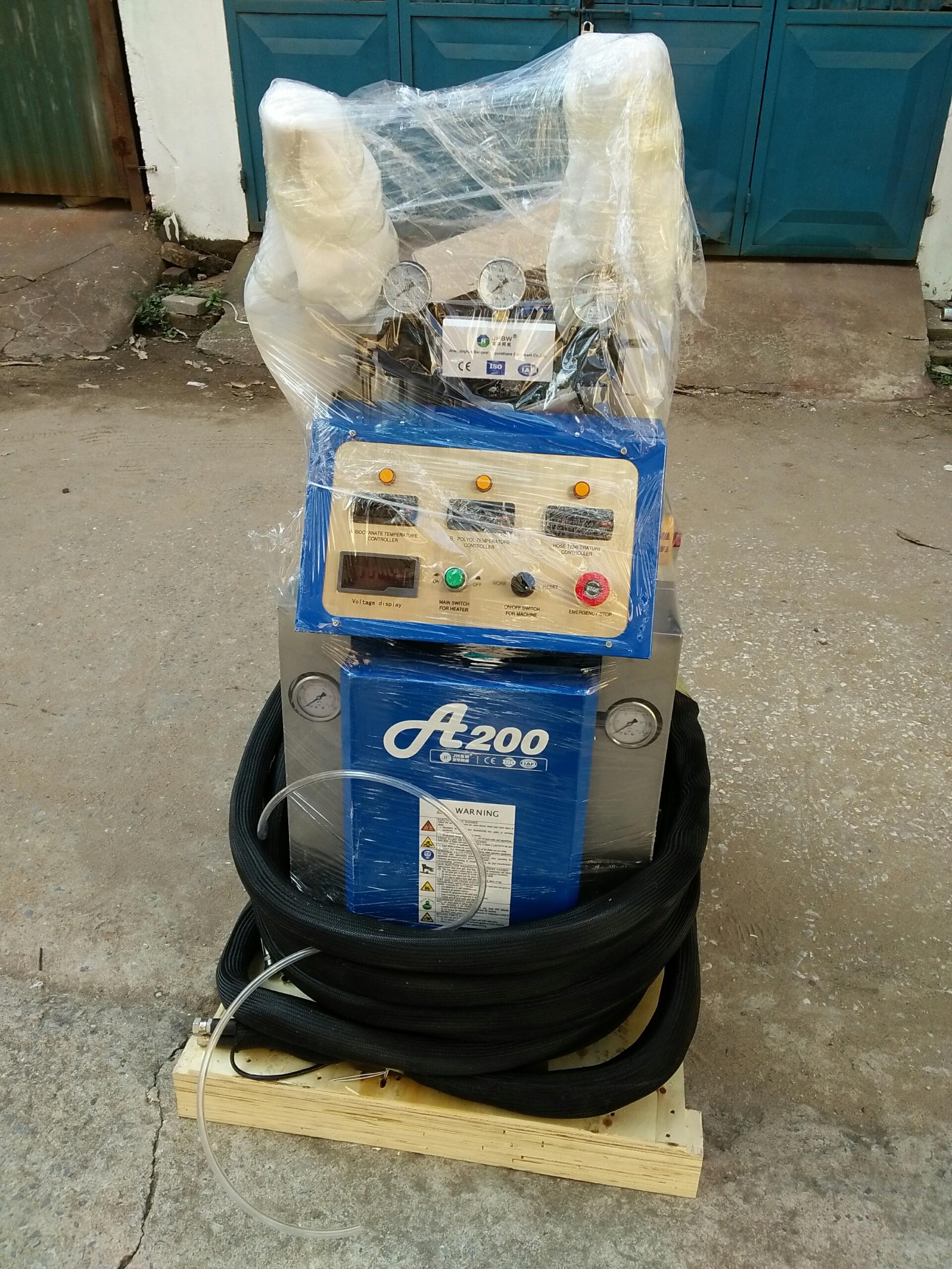Dịch vụ sửa chữa máy phun Foam A-200 bảo hành, bảo trì