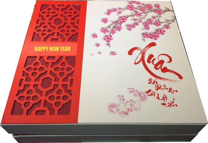 Xưởng in hộp quà Tết - In offset hộp quà Tết số lượng lớn cho công ty quà tặng, công ty bánh kẹo