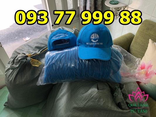 Cơ sở sản xuất nón du lịch, nón kết, nón lưỡi trai, thêu logo mũ nón giá rẻ hp