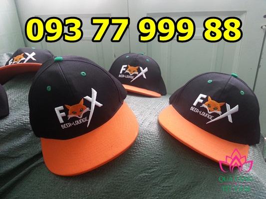 Cơ sở sản xuất nón snapback, nón hiphop, in logo mũ nón giá rẻ hp