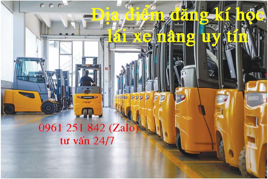 Dạy lái xe nâng tại Biên Hòa Đồng Nai