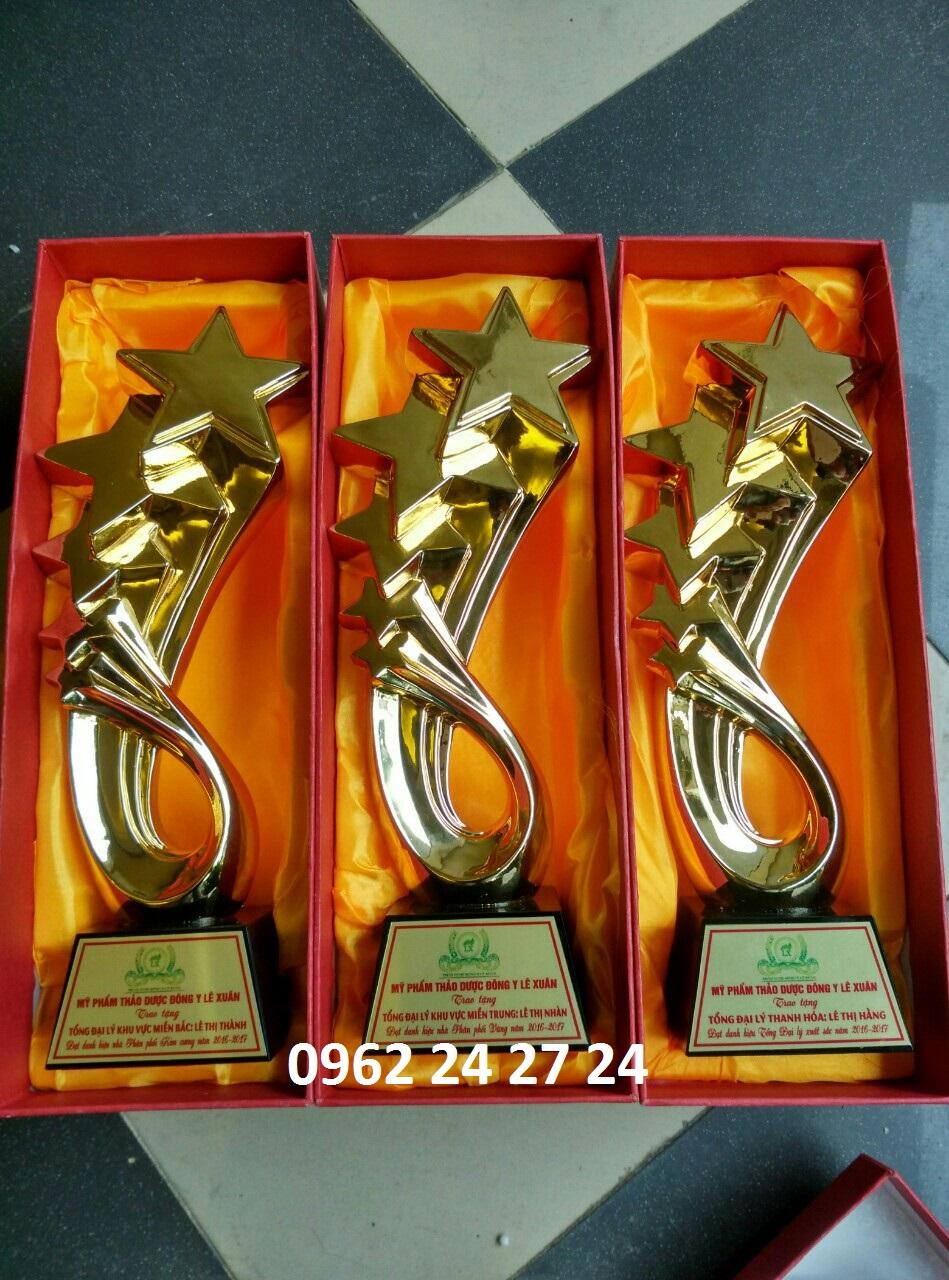 Sản xuất và cung cấp cúp lưu niệm, chỗ nhận đặt cúp cuộc thi chuyên ngành thẩm mỹ