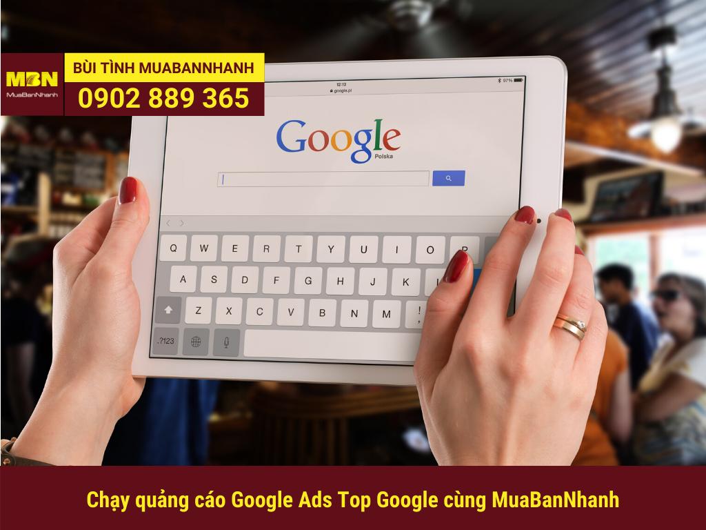 Chạy quảng cáo Google ads Top Google