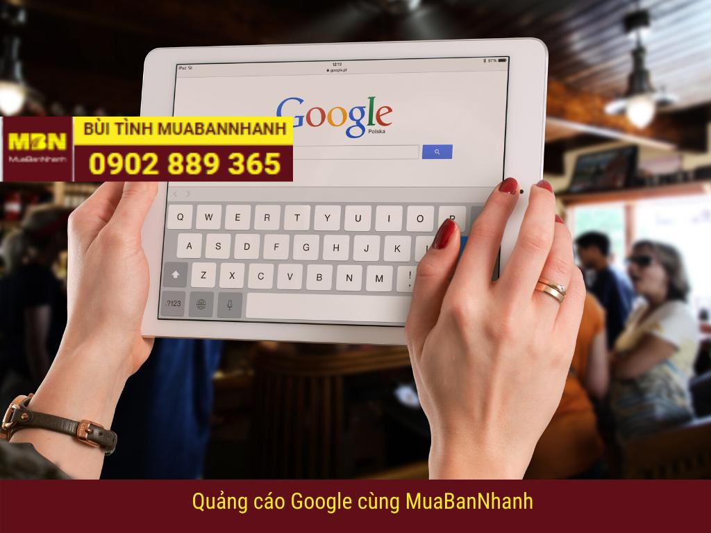 Quảng cáo google cùng MuaBanNhanh