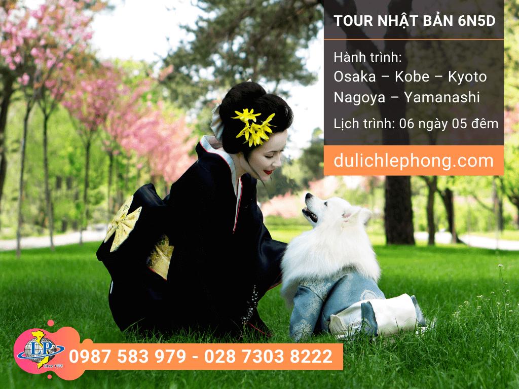 [ TẾT 2020 ] Tour du lịch Nhật Bản 6 ngày 5 đêm - Osaka - Kobe - Kyoto - Nagoya - Yamanashi - Du lịch Nhật Bản Lê Phong