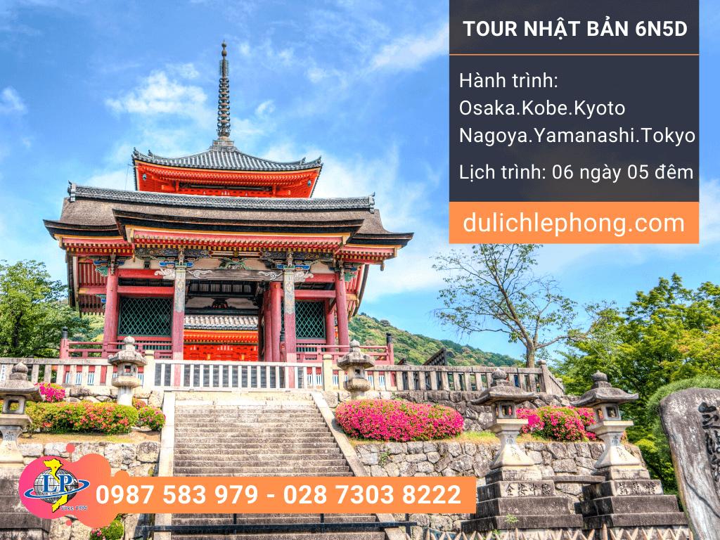 [ TẾT 2020 ] Tour du lịch Nhật Bản 6 ngày 5 đêm - Osaka - Kobe - Kyoto - Nagoya - Yamanashi - Tokyo - Du lịch Nhật Bản Lê Phong