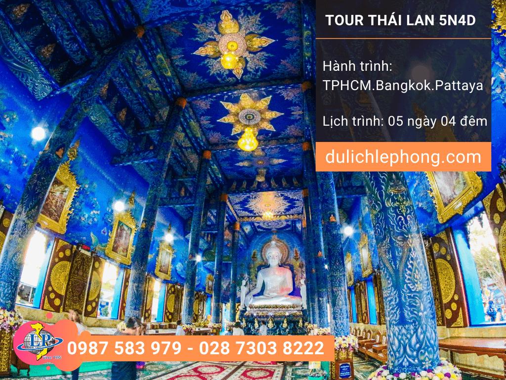 Tour du lịch Thái Lan 29 Tết từ TPHCM - Bangkok - Pattaya - 5 ngày 4 đêm - Du lịch Thái Lan Lê Phong