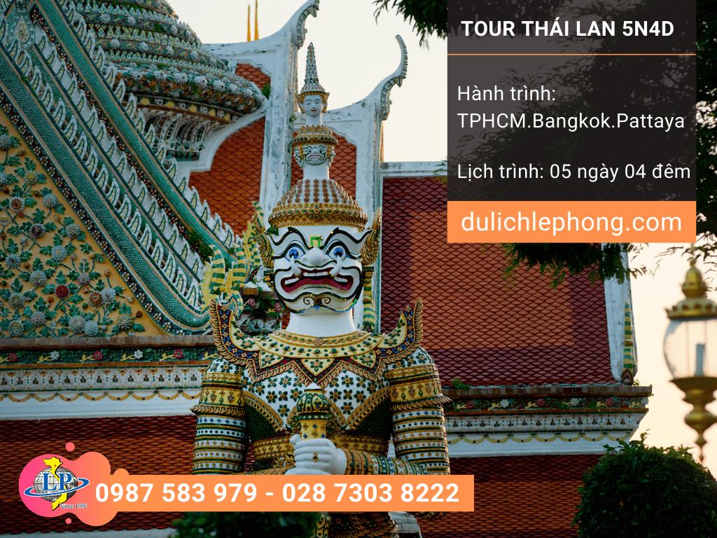 Tour Thái Lan Tết Nguyên Đán 2020 từ TPHCM - Bangkok - Pattayadu 5 ngày 4 đêm - Du lịch Thái Lan Lê Phong