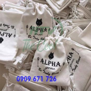 Đặt may túi xách vải bố, nơi may túi vải bố canvas giá rẻ tại TPHCM