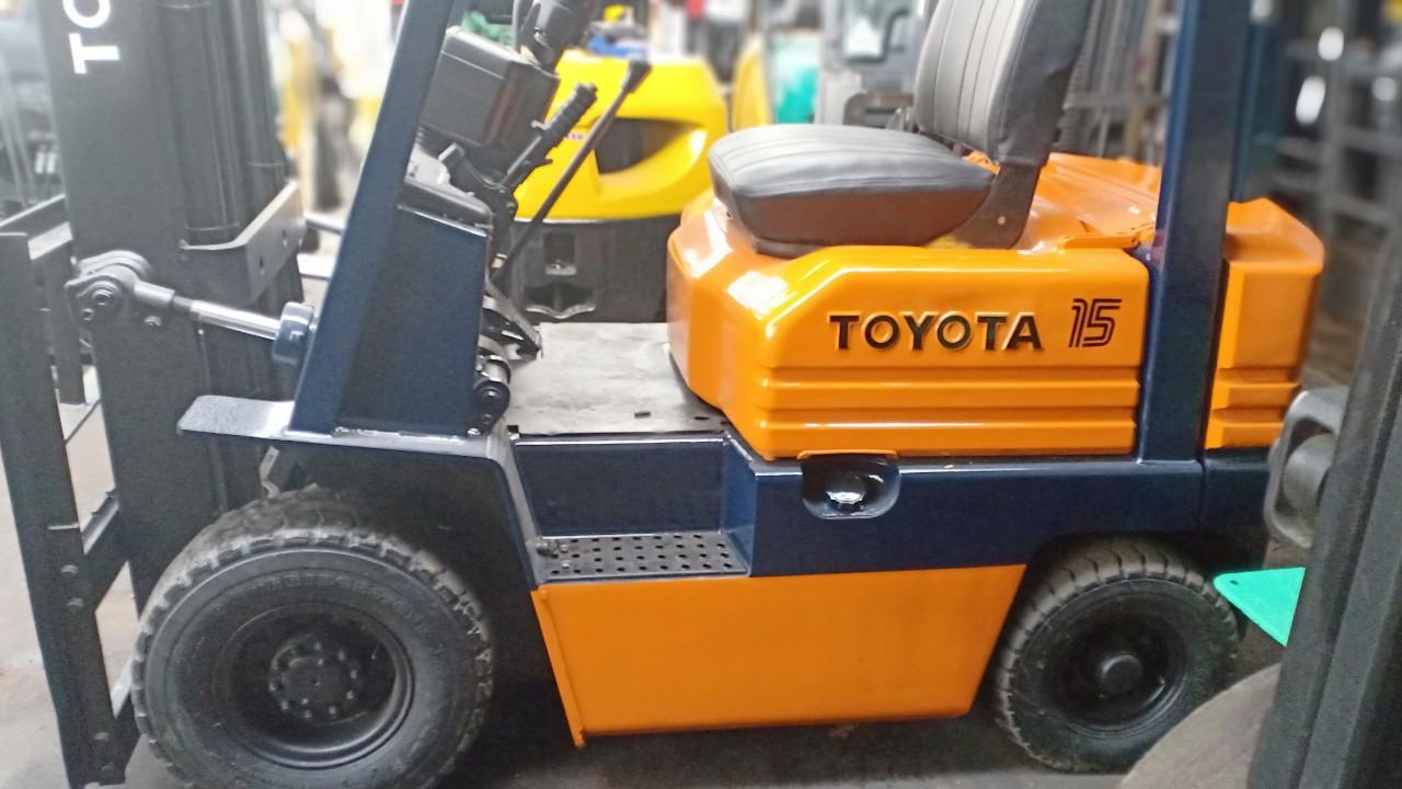 Cho thuê xe nâng dầu TPHCM | Dịch vụ xe nâng dầu 3 - 20 tấn