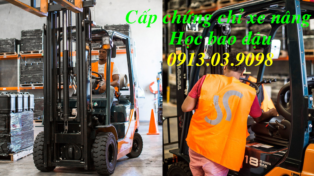 Tư vấn thi sát hạch lái xe nâng giá rẻ tại Long Thành Đồng Nai