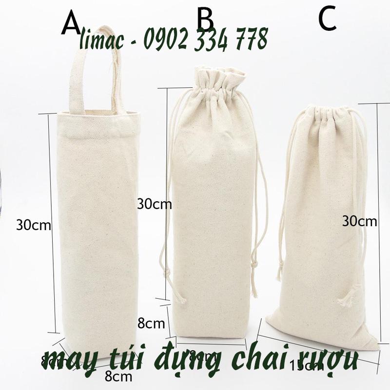 Công ty chuyên may túi vải bố, in túi vải bố theo yêu cầu
