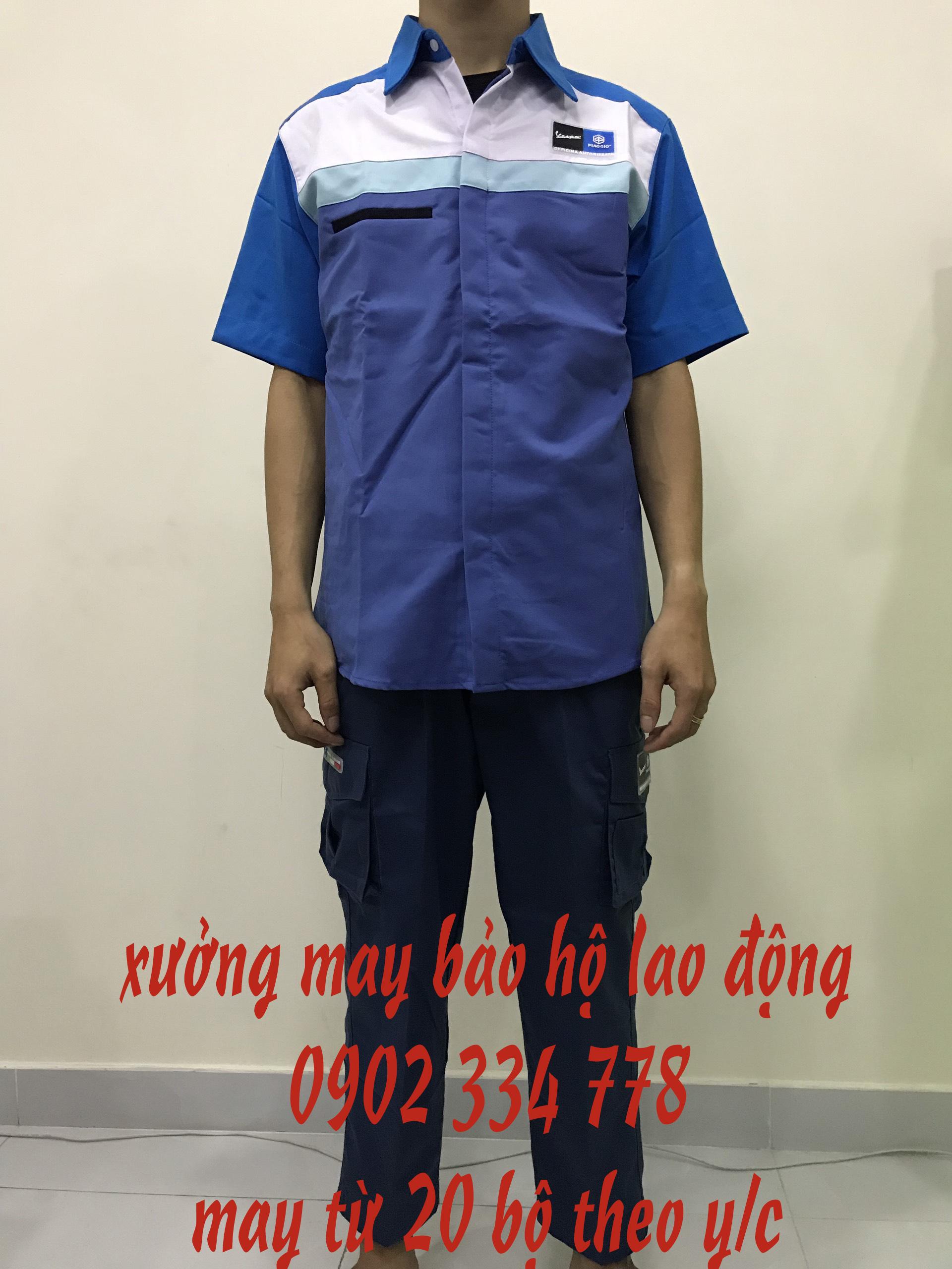 Nhận may gia công quần áo lao động theo yêu...