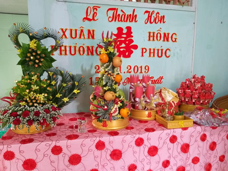 Dịch vụ giao quả cưới trọn gói Khánh Hòa