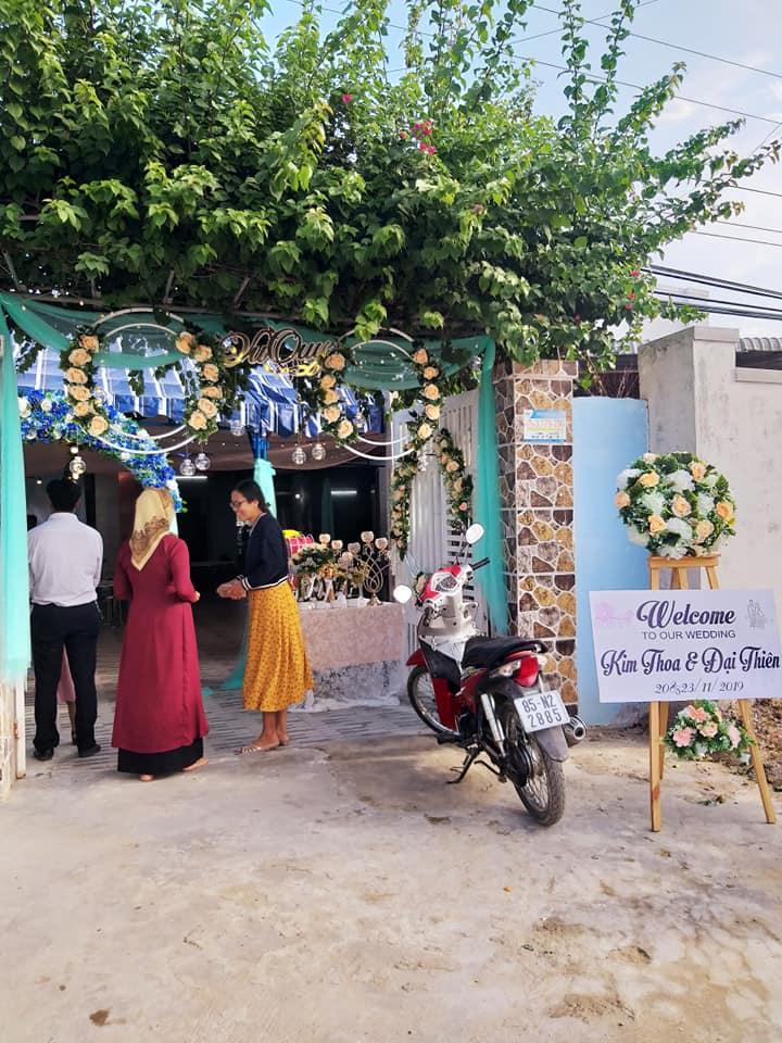 Trang trí cưới làng Mỹ Nghiệp, Ninh Thuận