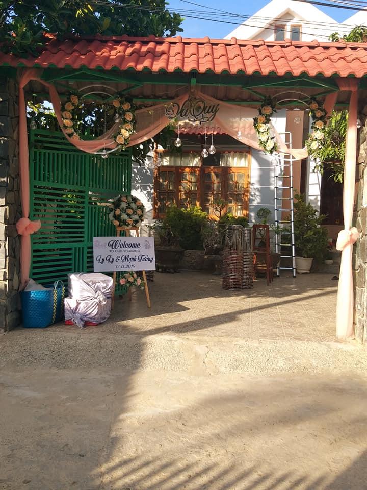 Trang trí cưới LyLy tại Trương định Phan Rang Ninh Thuận