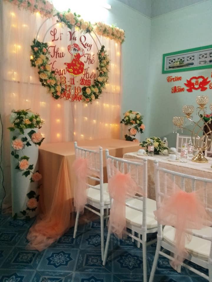 Dịch vụ trang trí cưới nhà gái Ninh Quý