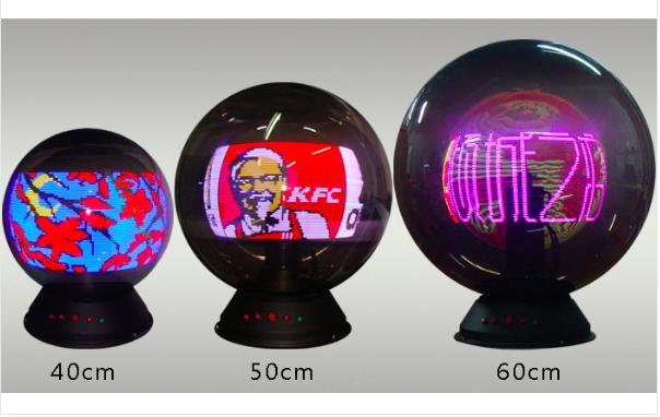 Cho thuê quả cầu LED khai trương