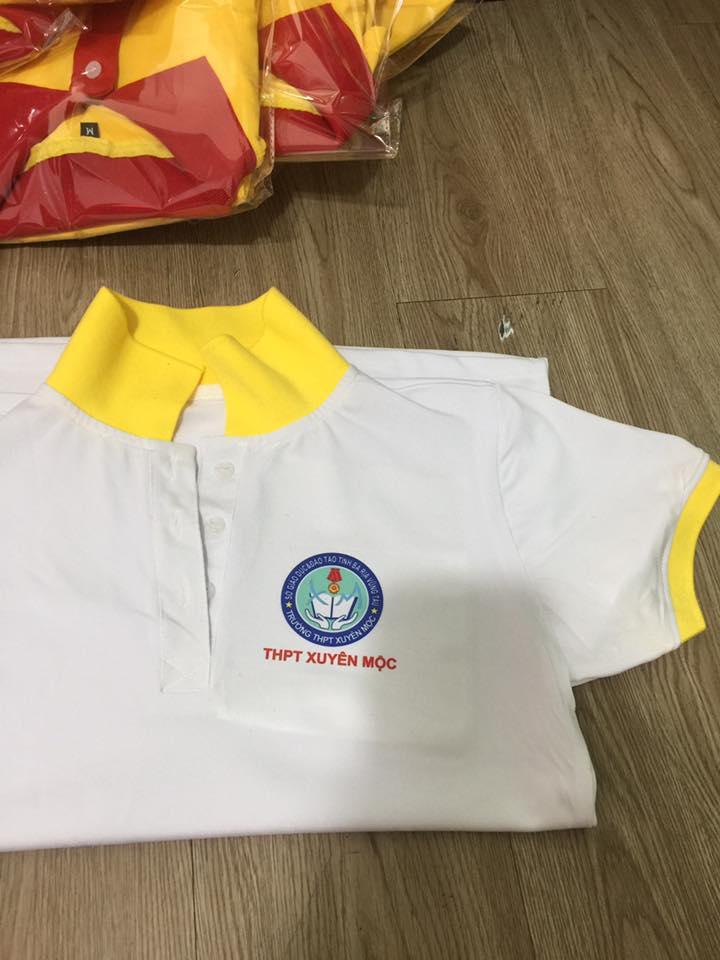 xưởng may áo thun đồng phục trường học giá rẽ