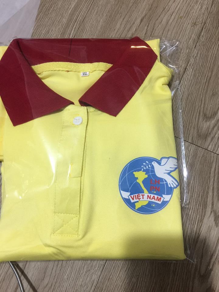 áo thun đồng phục chi hội phụ nữ giá rẽ