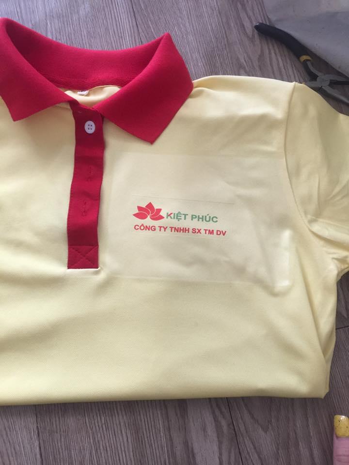 công ty may áo thun đồng phục quạt asia giá tốt