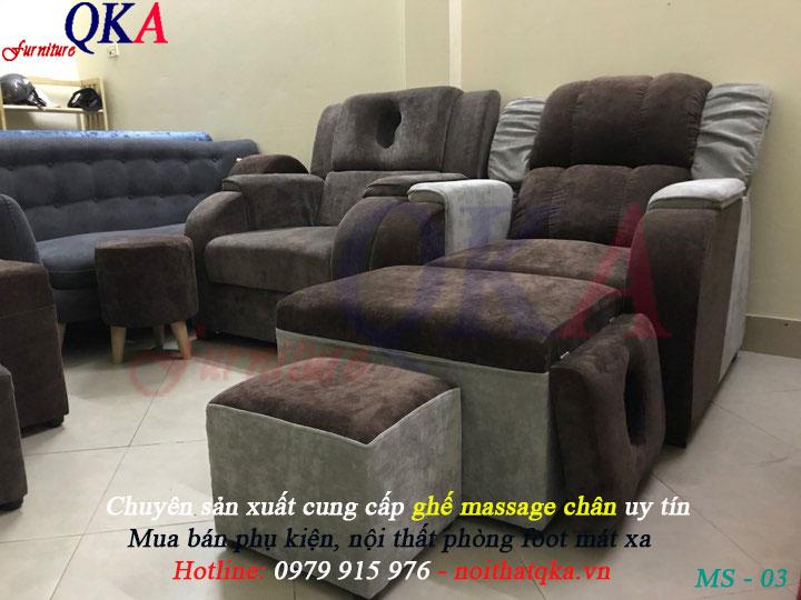 Dịch vụ đóng ghế massage chân uy tín giá rẻ
