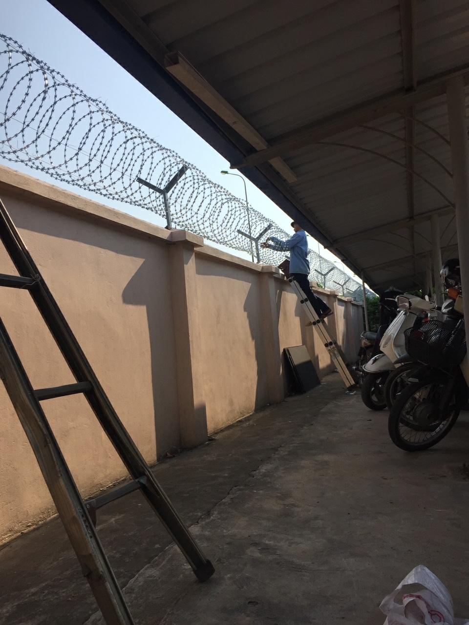 Thi công hàng rào lưới - lựa chọn tối ưu