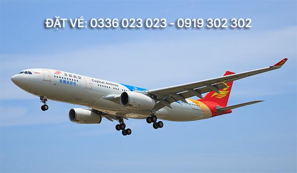Bay cùng Beijing Capital Airlines – nhanh chóng, dễ dàng