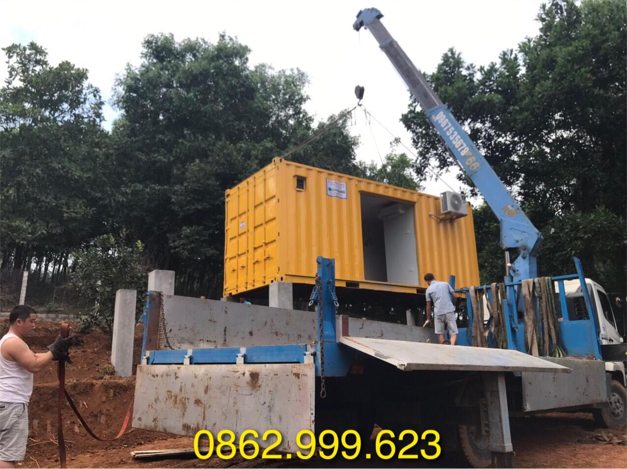 Cho thuê container văn phòng, container cũ tại khu vực miền Bắc
