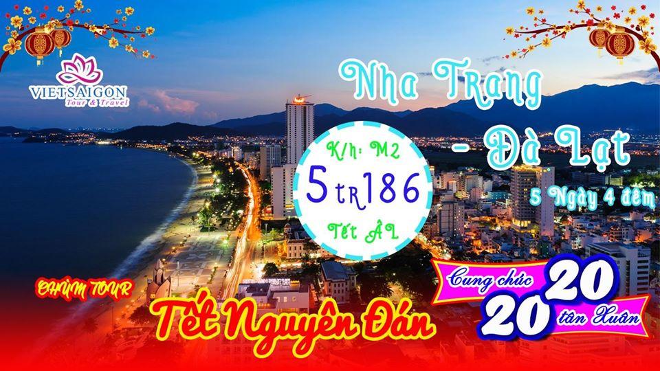 Biển nắng Nha Trang - Sắc hoa Đà Lạt