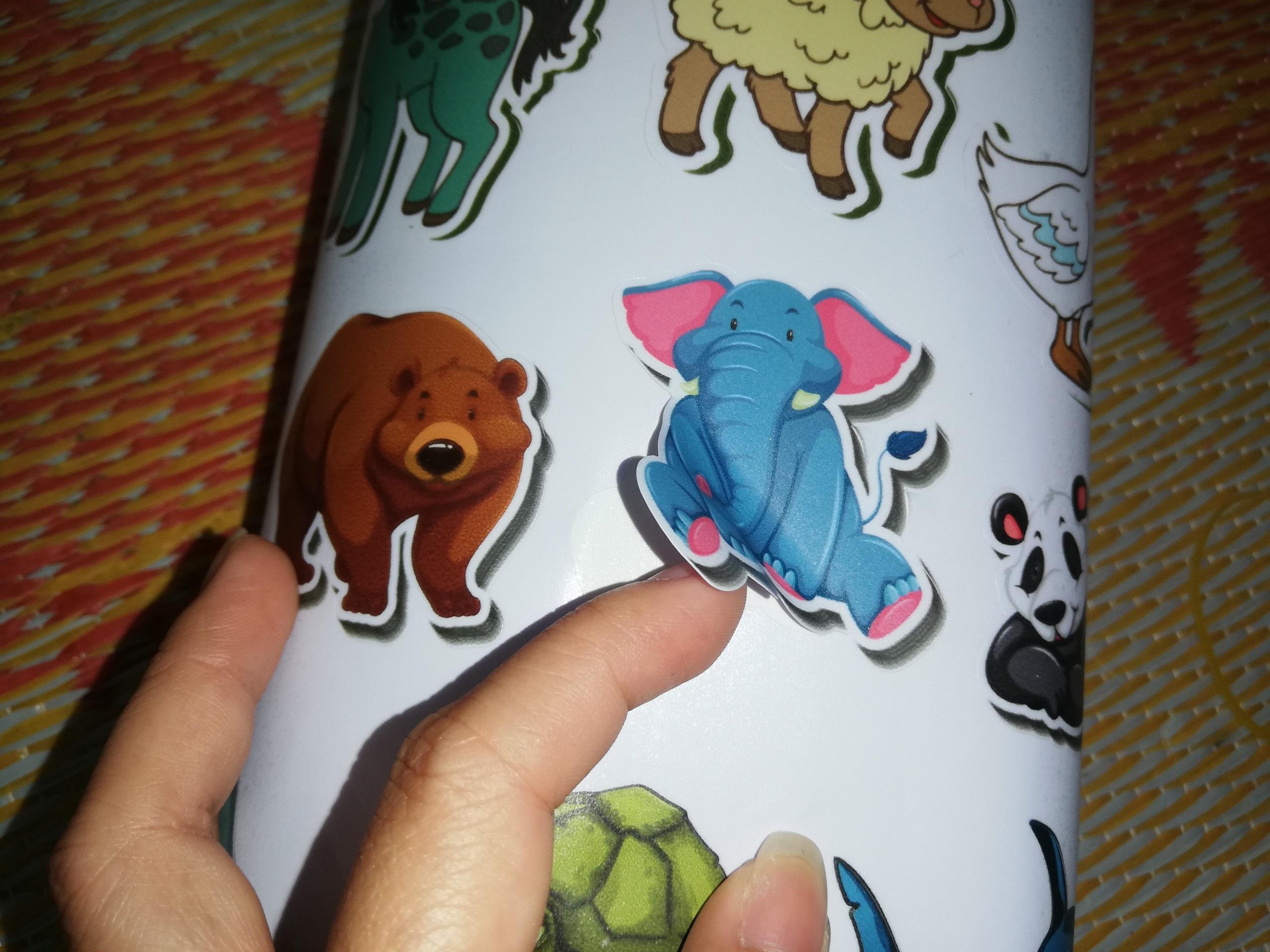 In sticker động vật - hình con vật - hình thú cho bé