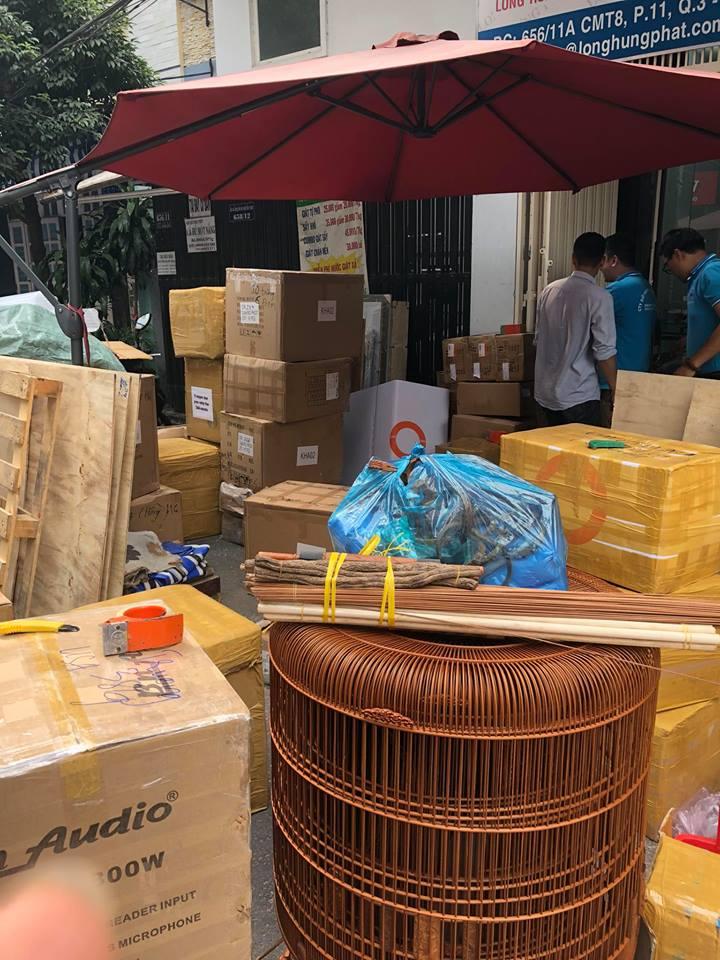Gửi bưu kiện, bưu phẩm hàng hóa cồng kềnh đi nước ngoài bằng đường hàng không và tàu biển uy tín
