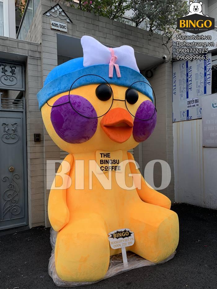 Chuyên may gấu bông khổng lồ, mô hình trưng bày, may mascot theo yêu cầu