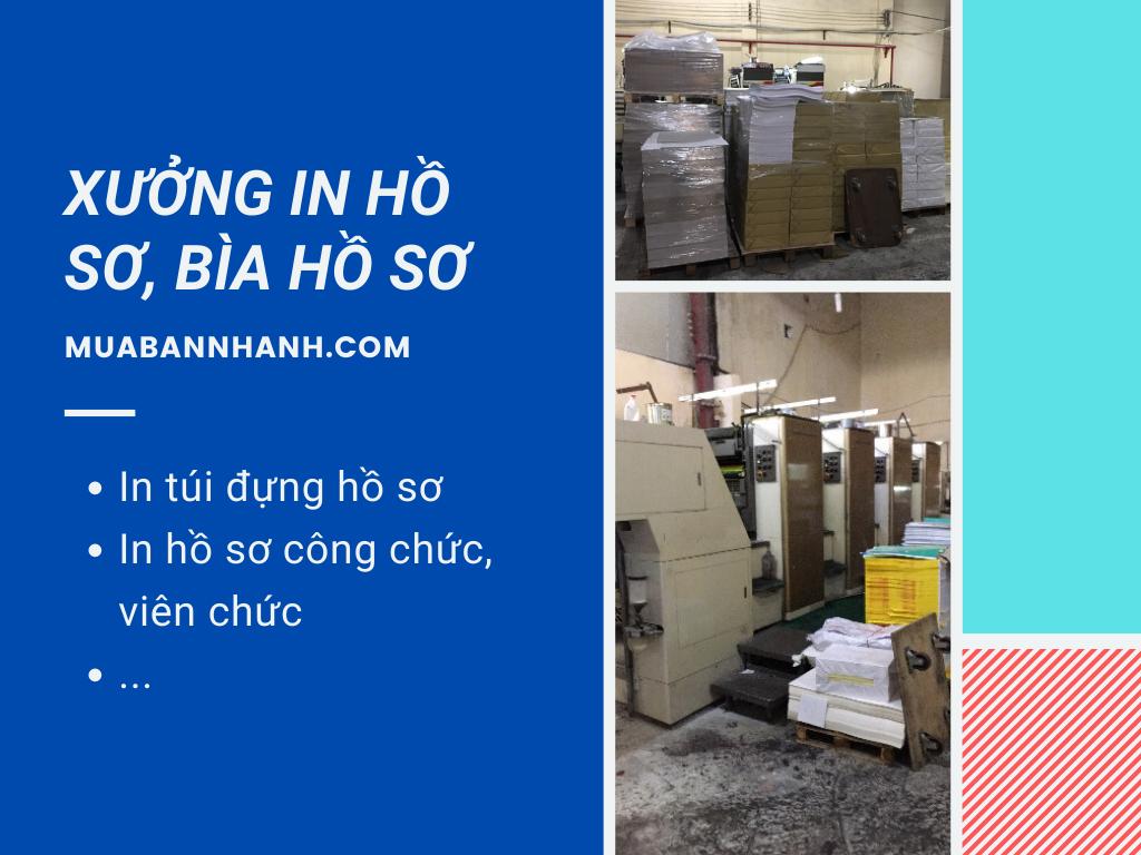 Xưởng in túi đựng hồ sơ A4, bìa đựng hồ sơ xin việc Hà Nội