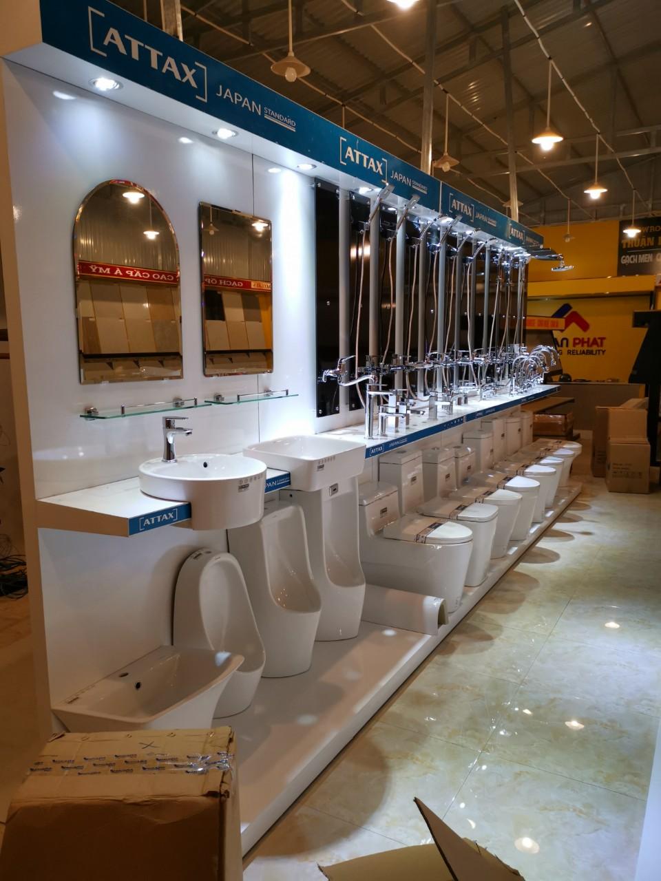 Hỗ trợ mở showroom thiết bị vệ sinh