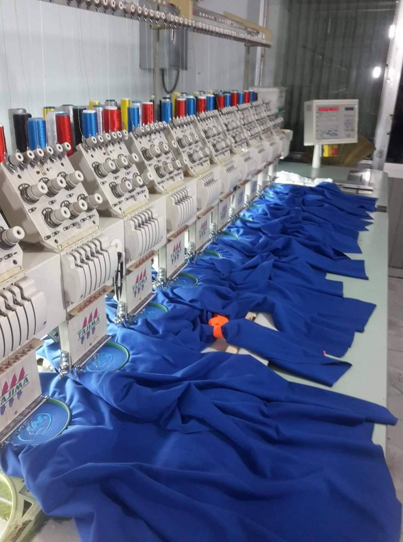 Dịch vụ thêu logo vi tính, thêu tên, chữ lên áo đồng phục lẻ và sỉ theo yêu cầu tại TPHCM