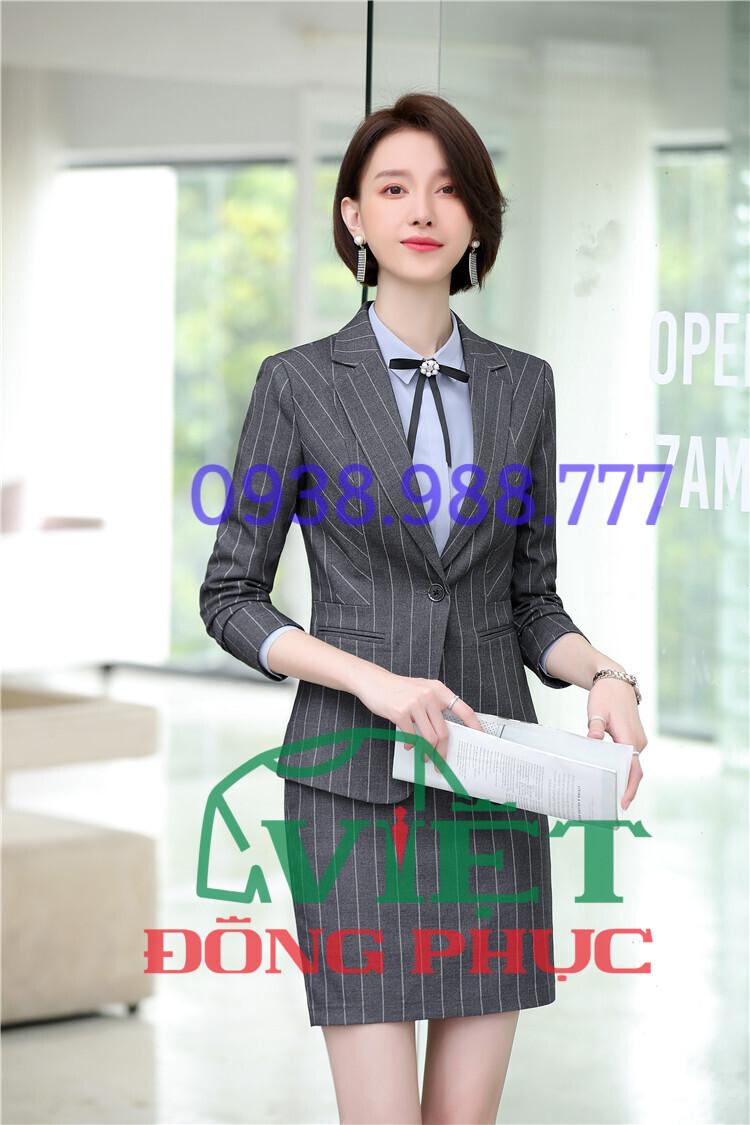 Địa chỉ may áo vest nữ đồng phục chuẩn theo form dáng