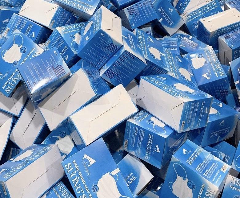 Khẩu Trang Suong's Mask tìm đối tác phân phối khẩu trang kháng khuẩn toàn quốc