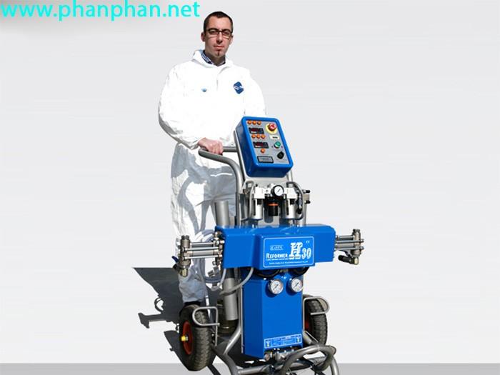 Hợp tác tìm đại lí  máy phun xốp cách nhiệt cách âm h-30