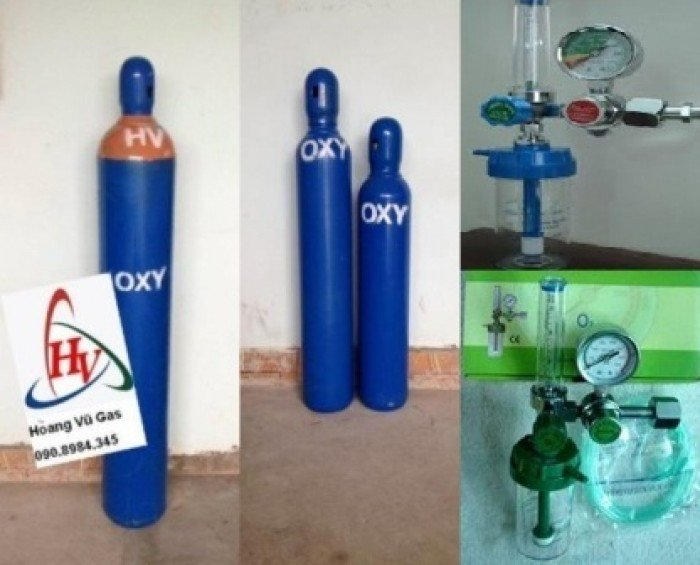 Cho thuê bình khí Oxy thở  tại Hóc Môn, Quận 12, Gò Vấp