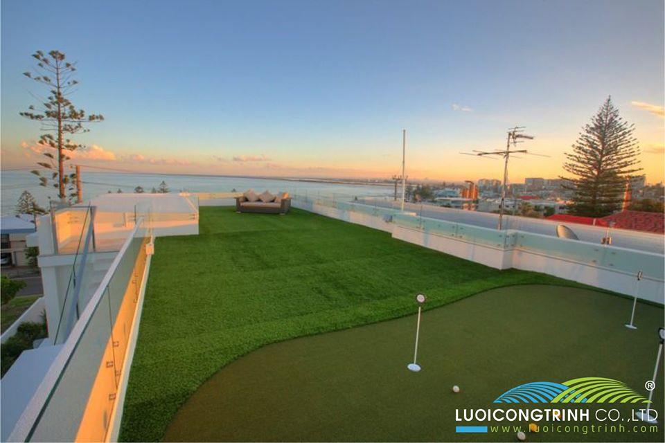 Thi Công Mô Hình Golf Trên Sân Thượng