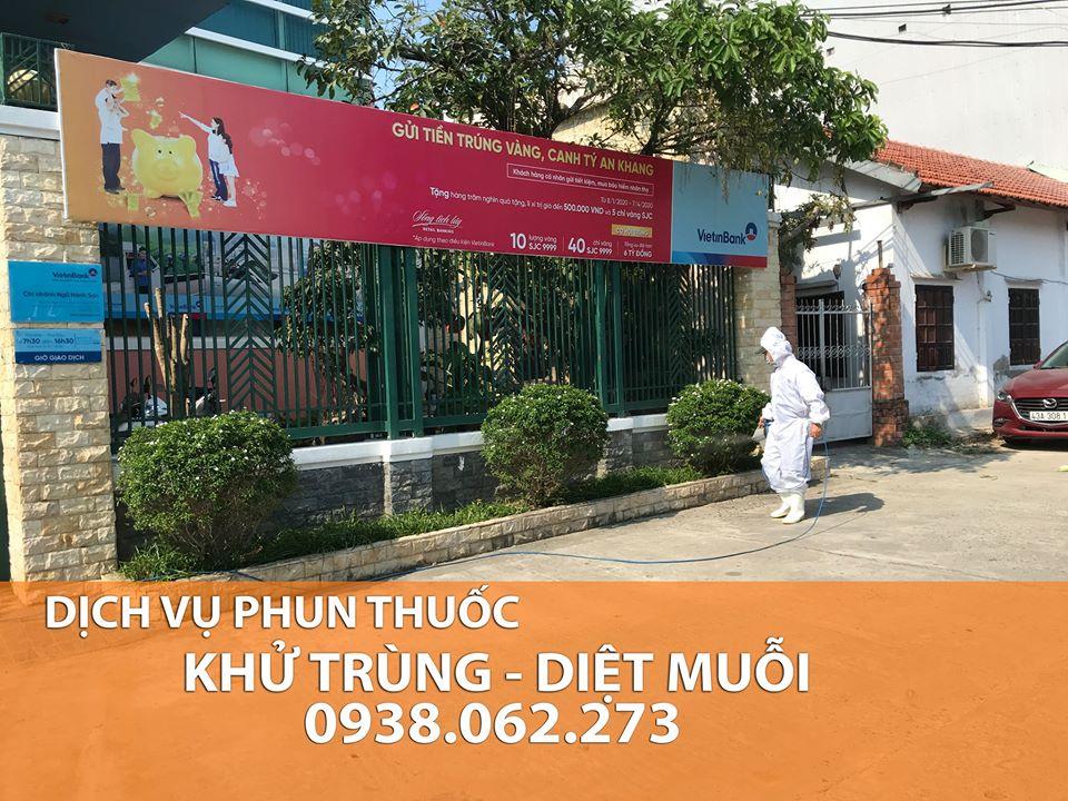 Dịch vụ phun sát trùng Đà Nẵng